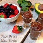 Happy Easter!!! Choc Berry Mud Shots anyone? These are the kind of shots we'll be having this Easter