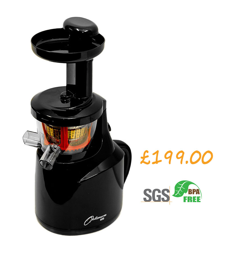 Slow Juicer Vs Zentrifuge : Slow juicers :: THE NEW OPTIMUM 400 REvOLUTIONARY SLOW JUICER*