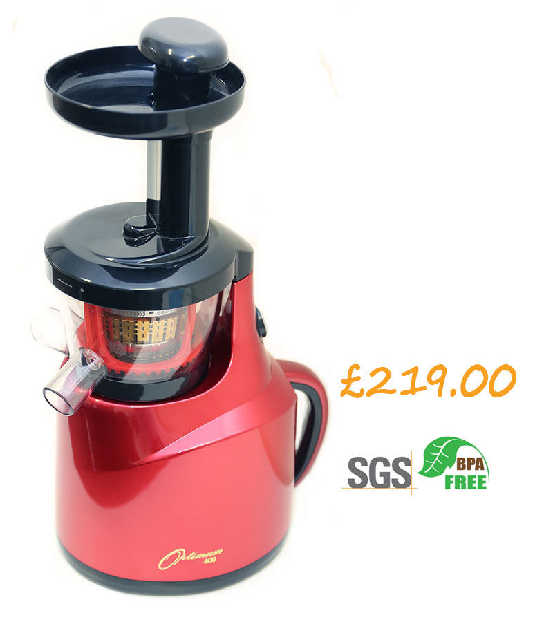 Slow juicers :: THE NEW OPTIMUM 400 REvOLUTIONARY SLOW JUICER*