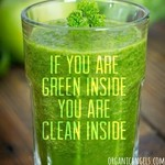 If you are green on the inside, you are clean on the inside! Drink more #greenjuice and #greensmoothies